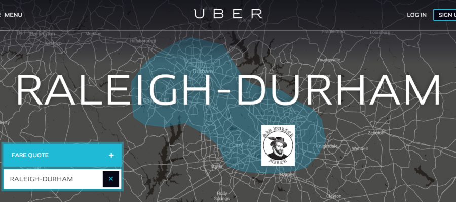 Why drive to the Sir Walter Miler when you can Uber? - Sir Walter Miler