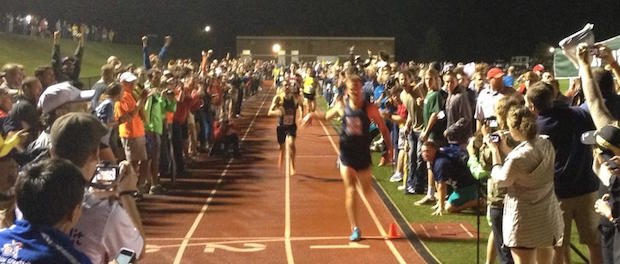 2014 Sir Walter Miler finish