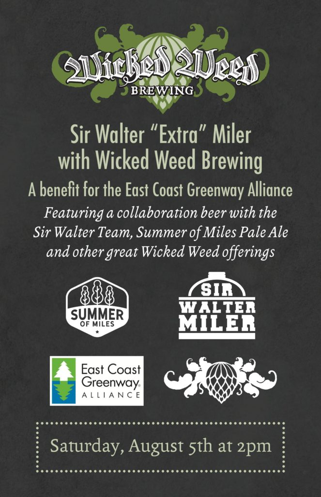 Sir Walter Miler Wicked Weed Summer of Miles Pale Ale